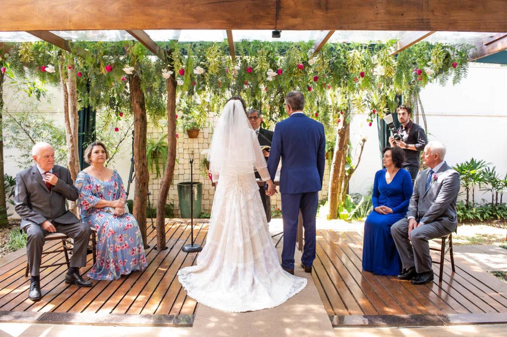 Mini wedding em São Paulo no Espaço Moní