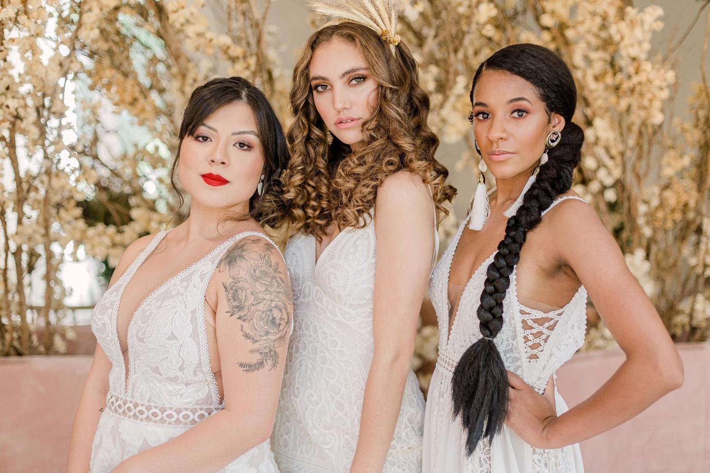 Qual estilo de vestido de noiva combina com você?